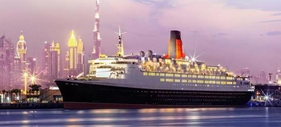 4* Dubai Break, Breakfast  @ Queen Elizabeth 2 Ship Hotel