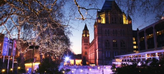 3* or 4* London Stay with Christmas Ice Skating