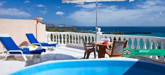 4* Superior Room & Private Pool @ Tenerife's Playa de las Americas