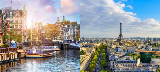 Paris & Amsterdam Multi-Centre Adventure, Train Transfer
