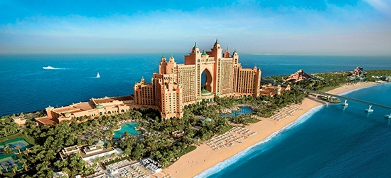 5* Atlantis The Palm, Dubai break w/board upgrade