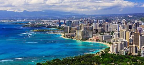 Hawaiian Islands with Las Vegas and LA stays