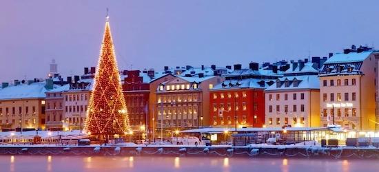 Stockholm Christmas market breaks