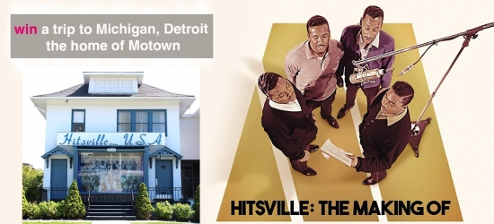 Win a trip to Detroit, Michigan: the home of Motown