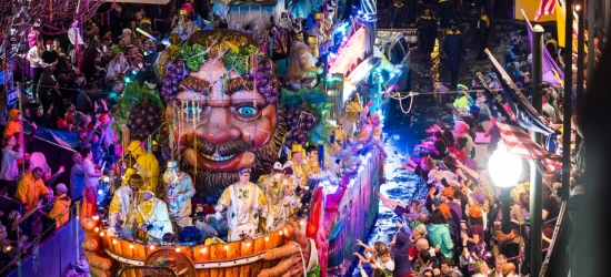 Panama Canal cruise with Memphis and Mardi Gras New Orleans stay