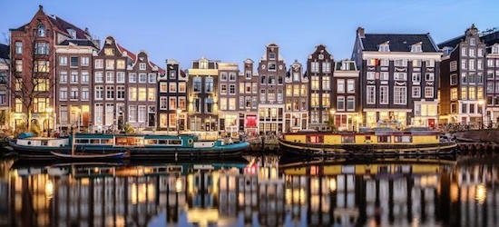 4* PLUS Amsterdam city break w/flights