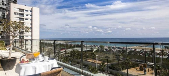 5 nights in Feb at the 4* Front Maritim, Barcelona