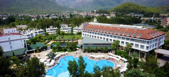 7 nights in May at the 4* Sherwood Greenwood Resort, Antalya, Turkey