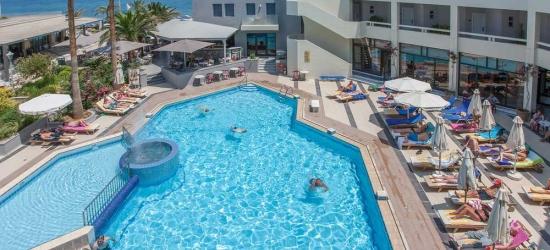 7 nights in Apr at the 4* Pearl Beach Hotel, Crete, Greece