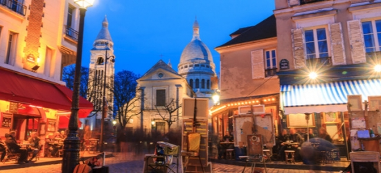 $ Based on 2 people per night | 17th-arrondissement stay in a 19th-century building, Paris, France
