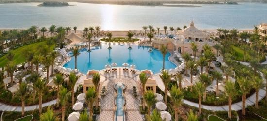 $ Based on 2 people per night | 5* Dubai hotel with a private beach on glitzy Palm Jumeirah, Emerald Palace Kempinski Dubai, UAE