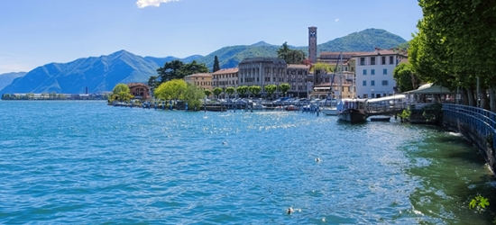 $ Based on 2 people per night | Charming northern Italy stay at a waterfront hotel, Hotel Lovere Resort, Lombardy