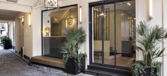 $ Based on 2 people per night | Stylish hotel in Paris' heart, Hotel Doisy, France