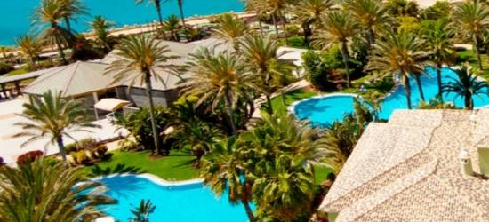 $ Based on 2 people per night | Sea-view Fuerteventura spa escape, R2 Rio Calma Hotel, Spa & Conference, Canary Islands