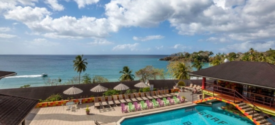 $ Based on 2 people per night | All-inclusive Tobago resort with glittering ocean views, Grafton Beach Resort, Caribbean