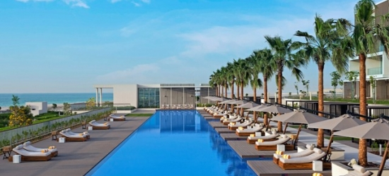 $ Based on 2 people per night | Dreamy five-star pad close to Dubai, The Oberoi Beach Resort Al Zorah, Ajman, United Arab Emirates