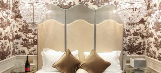 $ Based on 2 people per night | 18th-century Paris base in the 2nd arrondissement, La Maison Favart Hotel, France
