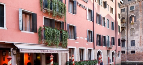 $ Based on 2 people per night | Glamorous canalside Venice hotel, Splendid Venice Starhotels Collezione, Italy