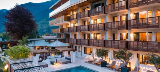 $ Based on 2 people per night | 5* South Tyrol mountain stay at a luxe wellness hotel, Hotel Paradies, Italy