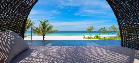$ Based on 2 people per night | Chic resort on a pristine Cambodian beach, Koh Rong, Cambodia