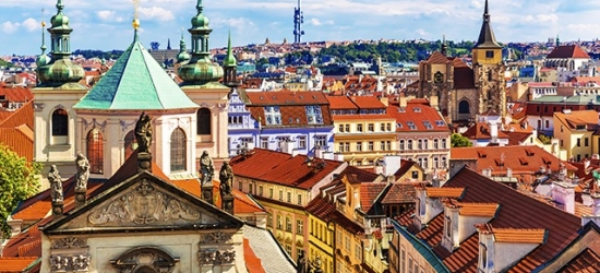 Based on 2 people per night | Modern Prague hotel in a quiet city neighborhood, NH Collection Prague, Czech Republic