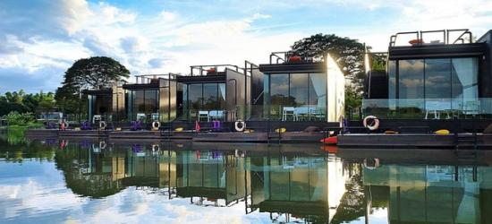 $ Based on 2 people per night | Riverside retreat in the Thai countryside, X2 River Kwai Resort, Kanchanaburi
