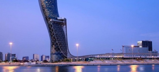 Based on 2 people per night | 5* Abu Dhabi hotel with panoramic city views, Andaz Capital Gate (a concept by Hyatt), UAE