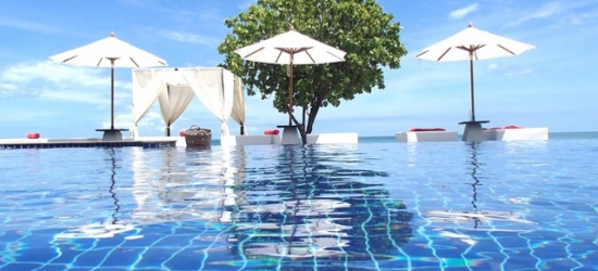 Based on 2 people per bungalow per night | Luxe resort on the coast of eastern Thailand, Aava Resort & Spa, Khanom