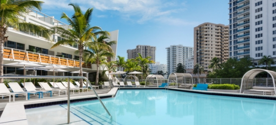 Based on 2 people per night | Modern SoBe luxury steps from the beach, The Gates Hotel South Beach, Florida