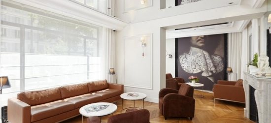 $ Based on 2 people per night | Contemporary Paris hotel near the Eiffel Tower, Tourisme Avenue Hotel, France