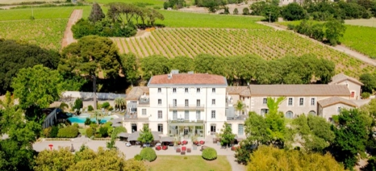 $ Based on 2 people per night | French mansion with wine estate outside Montpellier, Domaine de Verchant, France