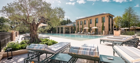 $ Based on 2 people per night | 5* private estate in stunning Provence, Villa Saint Ange, France