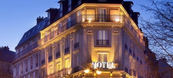 $ Based on 2 people per night | Central Paris stay at a stylish city bolthole, Hôtel Champs Elysées Friedland, France