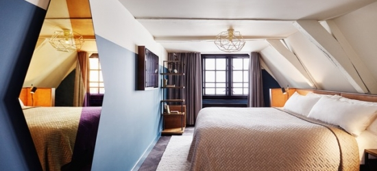 $ Based on 2 people per night | Hip canalside Amsterdam hotel, Hoxton Hotel Amsterdam, Netherlands