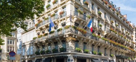 $ Based on 2 people per night | Five-star boutique hotel within steps of the Eiffel Tower, Sofitel Paris Baltimore Tour Eiffel Hotel, France