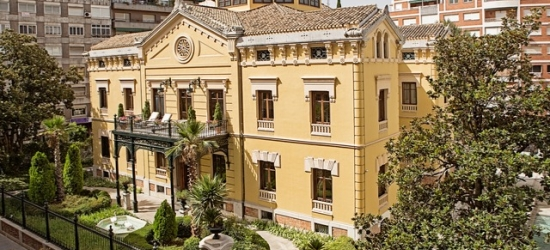 $ Based on 2 people per night | Luxury hotel set in a historic palace, Hospes Palacio de los Patos, Granada, Spain