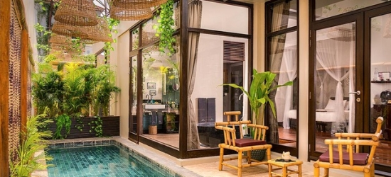 Based on 2 people per night | Colonial-style Siem Reap retreat near Angkor Wat, Heritage Suites Hotel, Cambodia