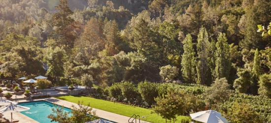 $ Based on 3 people per lodge per night | Spectacular & secluded Napa Valley luxury resort, Calistoga Ranch, California
