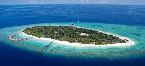 Deluxe all-inc Maldives villa escape