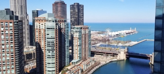 £91-- Chicago 4-Star Riverfront Hotel; Flights Available
