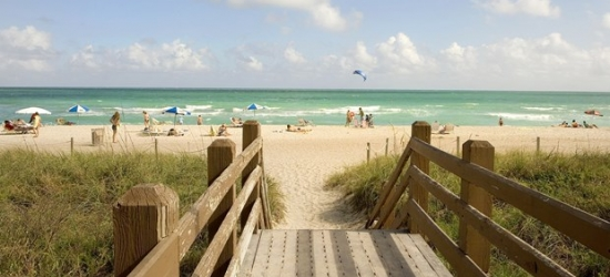 £70 & up -- Miami Beach Stay into Winter; Flights Available