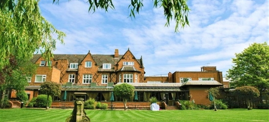 Cheshire: Double/Twin Room for 2 or Family Room for 4 with Breakfast and Spa at Brook Mollington Banastre Hotel and Spa