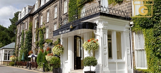 Harrogate: 1-3 Nights for Two with Full English Breakfast, Wine, and Option for Dinner at The 4* Old Swan Harrogate
