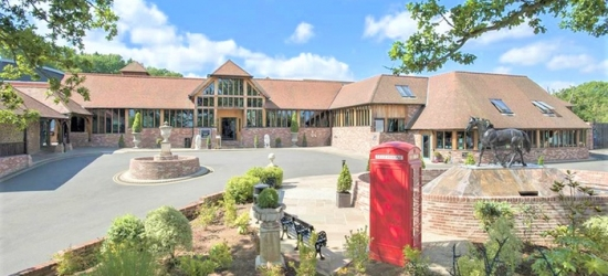 Hampshire: Stay for Two with Optional Dinner or Spa at 4* Old Thorns Hotel and Spa