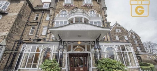 Harrogate: 1-2 Nights for Two with Breakfast, Fizz, Late Check-Out and Option for 3-Course Dinner at The Cairn Hotel