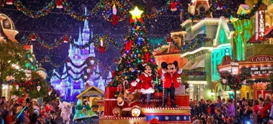 Disneyland Paris Christmas Stay, One-Day Two-Park Ticket