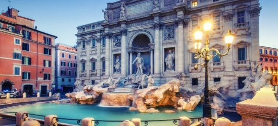 Romantic Retreat in Central Rome with Flights