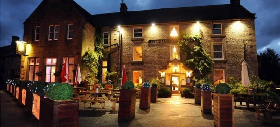 1-2nt Stay & Dinner For 2, Peak District