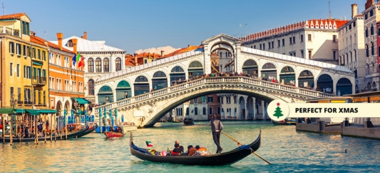 Venice City Escape  - Perfect for Christmas Gifting!