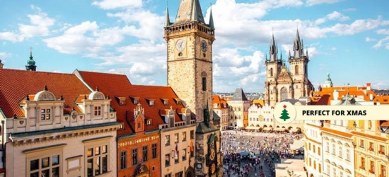 Central Prague Getaway  - Gift for Christmas!